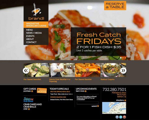 Thiết kế web nhà hàng Đà Nẵng